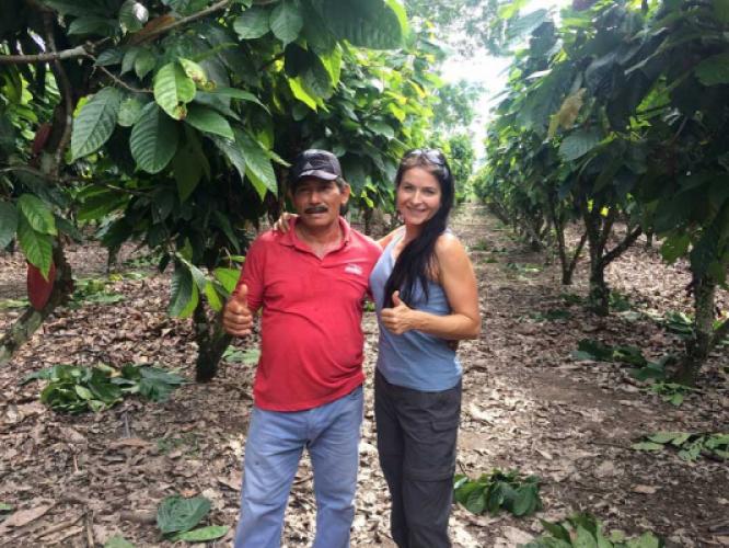 Ein Bericht von einer etwas anderen Kakaofarm