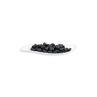 Schwarze Botija Oliven – entsteint ROH BIO 500 g