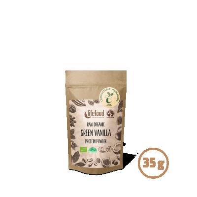 Raw Protein – Green Vanilla ROH BIO 35 g