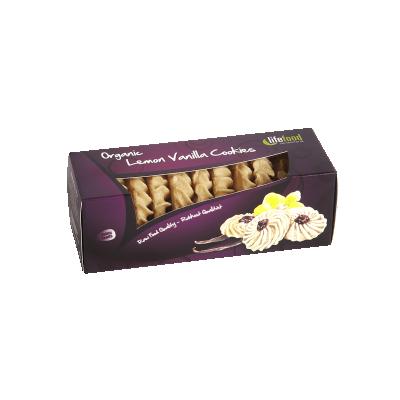 Zitrone Vanille Cookies ROH BIO