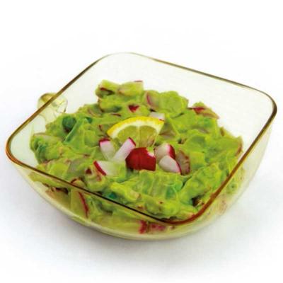 Avocado-Aufstrich mit Radieschen