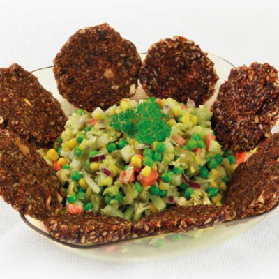 Pikante Tatar-Burger