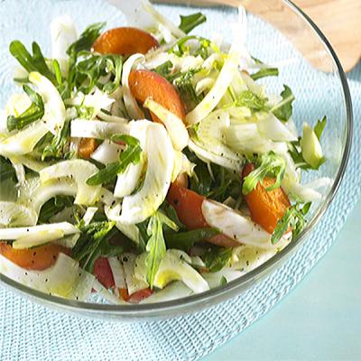 Aprikosen-Fenchel Salat