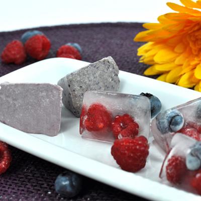 Vegane Fruchteis–Würfel