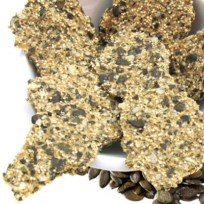 Kürbiskern-Quinoa-Kräcker