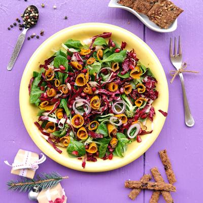 Marinierter Kürbis-Salat