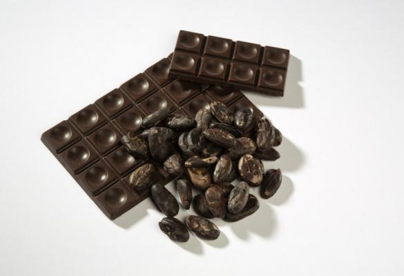 Rohe Schokolade