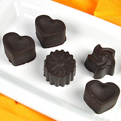 Schokoladige Pralinen