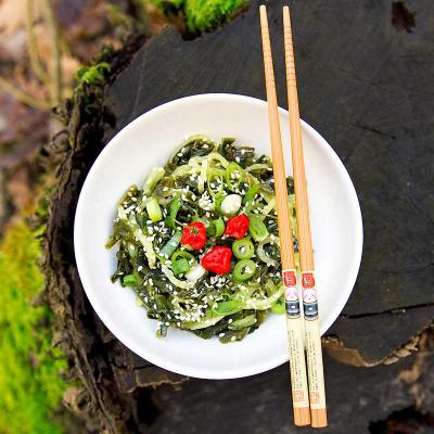 Seegurken-Wakame-Salat mit Chlorella-Dressing