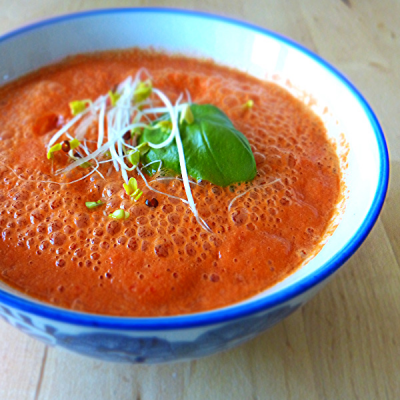 Tomate-Paprika Suppe