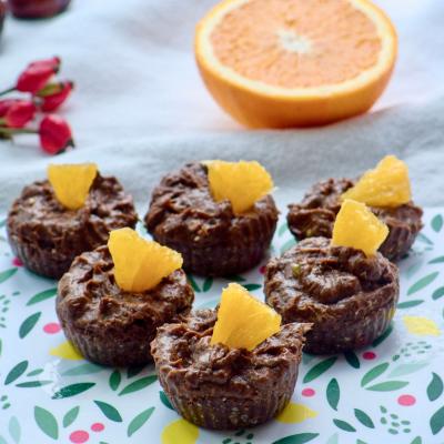 Muffins mit Avocadocreme