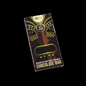Lifefood Schokolade 80 % Kakao ROH BIO