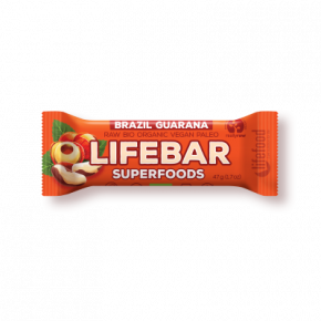 Lifebar Superfoods - Brazil + Guarana ROH BIO