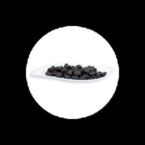 Schwarze Botija Oliven – entsteint ROH BIO 150 g
