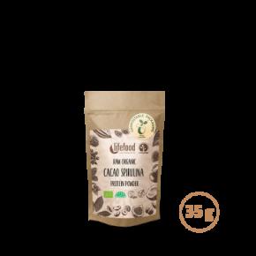 Raw Protein – Kakao Spirulina 35 g ROH BIO