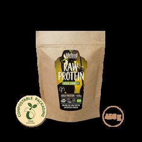 Raw Protein – Green Vanilla ROH BIO 450 g