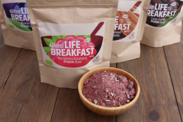 100% kompostierbare Verpackung bei Lifefood