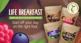 Frühstück voller Leben in nur einer Minute
