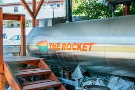 Gestatten: Rocket, die Kompostiermaschine