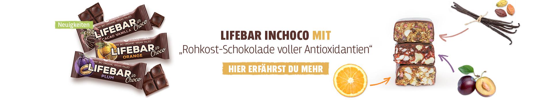 Neue Riegel mit Schokoladen-Überzug
