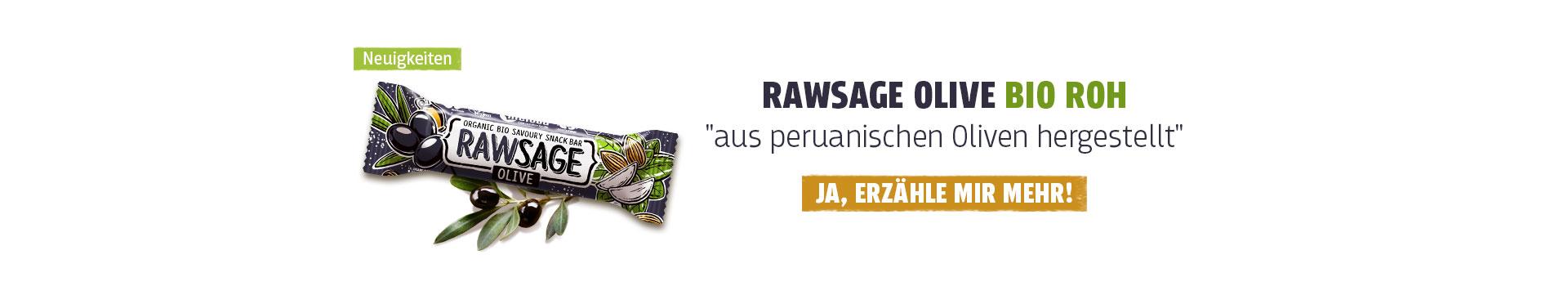 Rawsage Olive BIO ROH